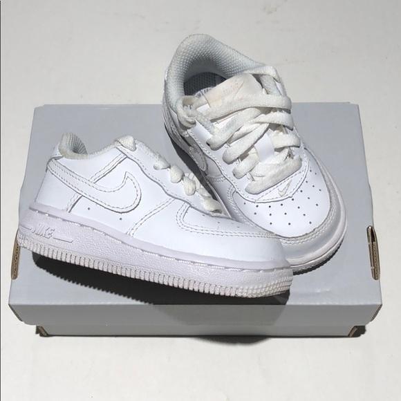 Nike Air Force 1 TD SIZE 5C white 314194 117